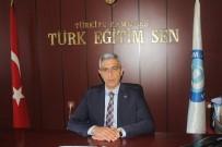 TÜRK EĞITIM SEN - Türk Eğitim Sen'den Öğretmenlere Performans Uygulamasına Tepki
