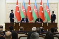 TİCARET ANLAŞMASI - Türkiye Azerbaycan Arasında 6 Anlaşma İmzalandı