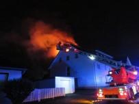 REN VESTFALYA - Almanya'daki Yangın Korkuttu