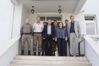 KARAKOL KOMUTANI - Başkan Duymuş'tan Vezirhan Jandarma Karakol Komutanı Şafak'a Hayırlı Olsun Ziyareti