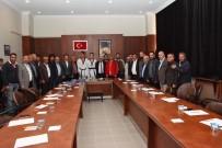 AHMET TURAN - Başkan Şimşek'ten Başarı Sporculara Ödül