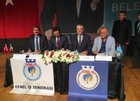TOPLU SÖZLEŞME - Beşiktaşta 200 Taşeron İşçi Sendikalı Oldu