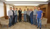 MEHMED ALI SARAOĞLU - Kaymakam Muhammet Önder'den, Belediye Başkanı Saraoğlu'na Ziyaret