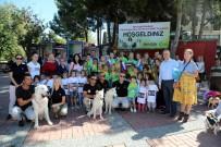 CUMHURİYET MEYDANI - Manavgat Belediyesi'nden Hayvanları Koruma Günü Yürüyüşü