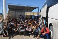 SRI LANKA - Otobüsten 181 Kaçak Göçmen Çıktı