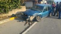 AHMET CENGIZ - Sakarya'da Trafik Kazası Açıklaması 1 Yaralı
