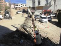 Şırnak Belediyesi, Ara Sokaklarda İyileştirme Ve Sağlıklaştırma Çalışması Başlattı
