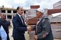 BÜYÜKŞEHİR YASASI - Tepekent'te Ticaret Merkezi'nin Yapımı Sürüyor