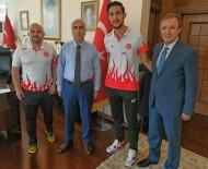 GENÇLİK VE SPOR İL MÜDÜRÜ - Vali Karahan, Şampiyon Sporcuyu Kabul Etti