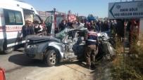 Afyonkarahisar'da korkunç kaza: 4 ölü