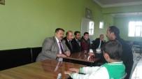 EVLAT ACISI - Ağrı Milli Eğitim Müdürü Turan'dan Acılı Aileye Ziyaret