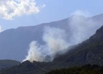 MAKİLİK ALAN - Antalya'da Orman Yangını