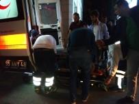 CUMHURİYET MEYDANI - Bafra'da Trafik Kazası Açıklaması 2 Yaralı