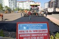 ORHAN BULUTLAR - Belediye Başkanı Bulutlar, Asfalt Çalışmalarını İnceledi
