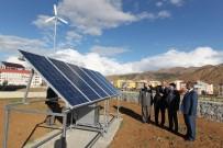 BEÜ Güneş Ve Rüzgârdan Enerji Üretiliyor