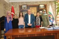 KARABÜK ÜNİVERSİTESİ - Finalistler TSO Başkanı Özcan'ı Ziyaret Etti