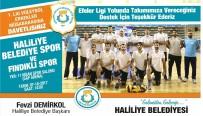 VOLEYBOL TAKIMI - Haliliye Voleybol Takımı, Fındıklı Maçına Hazırlanıyor