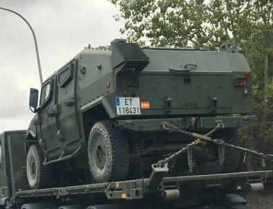 Harekete geçtiler! Askeri araçlar yola çıktı