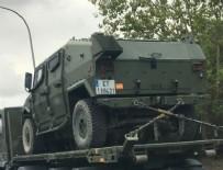 BARCELONA - Harekete geçtiler! Askeri araçlar yola çıktı