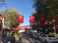 İnhisar Türk Bayrakları İle Donatıldı
