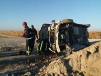 Karaman'da İşçi Minibüsü Devrildi Açıklaması 14 Yaralı
