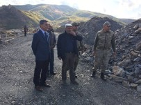 JANDARMA KARAKOLU - Kaymakam Özkan'dan Karakol Ziyaretleri