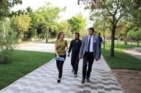 KıZıLPıNAR - Kızılpınar Mahallesi Muhsin Yazıcıoğlu Parkı Revize Ediliyor