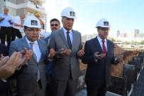SAIT KARAHALILOĞLU - Mezitli'de Yapılacak Akabe Camisi'nin Temeli Törenle Atıldı