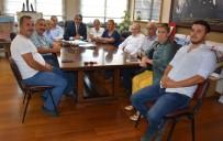 HALUK ALICIK - Nazilli Kent Konseyi, Başkan Alıcık'ı Ziyaret Etti