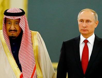 Putin Ve Kral Selman, Moskova'da görüştü