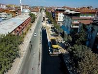 AYDINLATMA DİREĞİ - Recai Kutan Caddesinin Çehresi Değişti