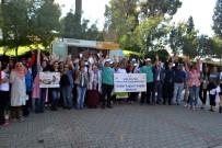 ÖZEL HASTANELER - Salihli'de Sağlık İçin Yürüyüp Egzersiz Yaptılar