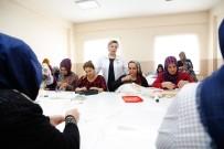 SECCADE - Şehitkamil'de Mefruşat Kursuna Yoğun İlgi