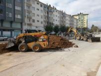 Seydişehir Belediyesi Refüj Çalışmalarına Devam Ediyor