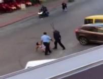 KADINA DAYAK - Turist kadına dayak atan polislere fatura kesildi