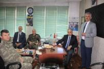 MUSTAFA KAHRAMAN - Vali Toprak, Saldırıya Uğrayan Başkan Kahraman'ı Ziyaret Etti