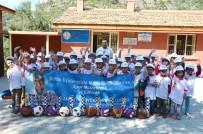 HÜSEYIN GÜNEY - Alanya'daki Okullara Spor Malzemesi Yardımı