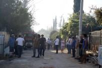 MUHARREM COŞKUN - Antalya'da İki Ev Ve Bahçe Yandı