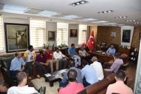 ARSLANBEY - Arslanbey'in Yeni Yönetimi Başkan Üzülmez'i Ziyaret Etti