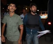 KORSAN GÖSTERİ - Atatürk Büstüne Molotof Attı Yakalanınca 'Özgürlük Yakındır' Diye Güldü