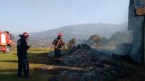 TAŞKESTI - Atölye Yangını Korkuttu