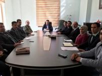 MEHMET ÖZCAN - Bahçesaray'da İdare Şube Başkanları Toplantısı Yapıldı