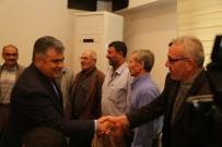 YOĞUN MESAİ - Başkan Özgüven'e Vatandaşlardan Teşekkür Ziyareti