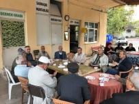 SARMAŞıK - Başkan Yaman'ın Köy Ziyareti