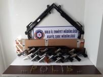 Bolu'da, Ele Geçirilen Silahların Mülkiyeti Kamuya Geçti