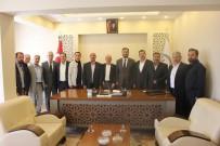 SAĞLıK SEN - Camiler Ve Din Görevlileri Haftası Dolayısıyla Müftü Karabayır'ı Ziyaret Ettiler