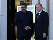 VENEZUELA - Erdoğan ve Maduro ortak basın toplantısı düzenledi