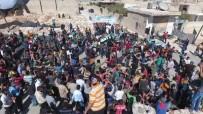CUMA NAMAZI - Halep Halkı Deyr Ez Zor Katliamını Kınadı