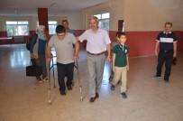 BEDENSEL ENGELLİ - İHA Duyurdu, Engelli Mustafa'nın Servis Sorunu Çözüldü