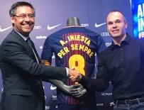 BARCELONA - Iniesta yeni sözleşmeyi imzaladı